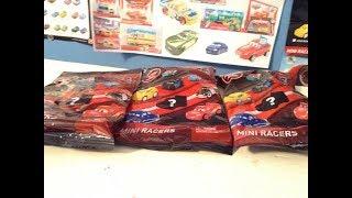 Opening up 3 Disney Cars Mini Racer packs!