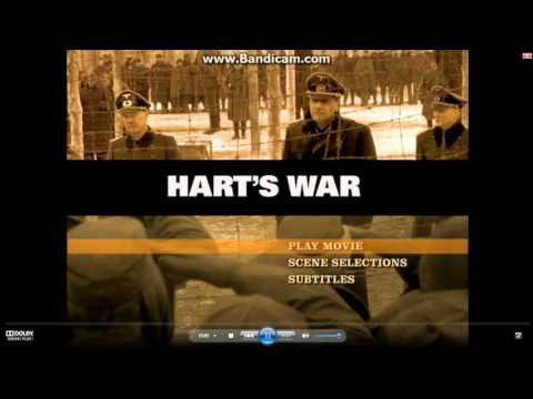Opening to Hart's War 2002 DVD (Side A) clip