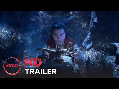 ALADDIN - Official Teaser Trailer (Mena Massoud, Naomi Scott, Will Smith) | AMC Theatres (2019)