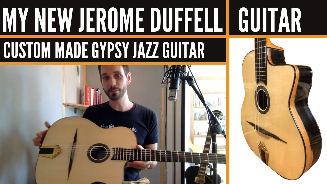 Playing My New Jerome Duffell Guitar