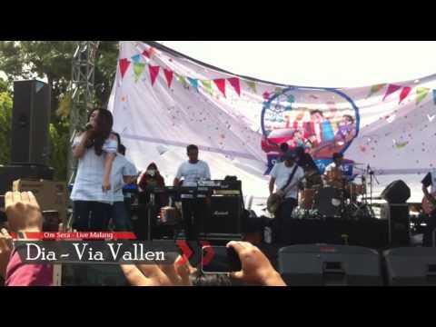 VIA VALLEN - DIA (ANJI) Om Sera Live Malang