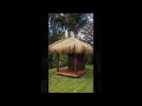 DIY Bali Huts