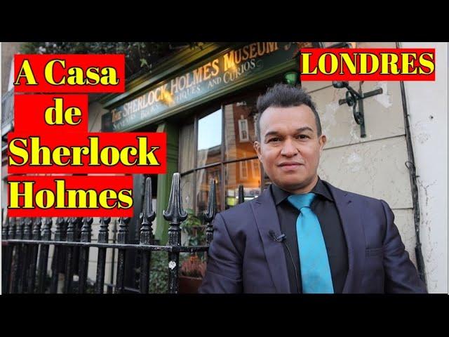 A casa de Sherlock Holmes em Londres