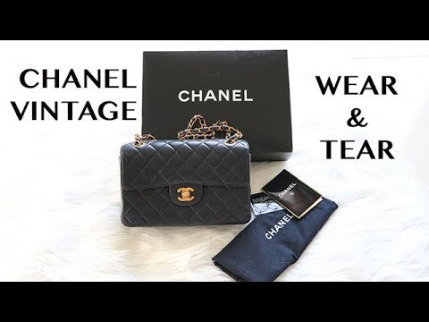 CHANEL VINTAGE    AFTER 20+ YEARS WEAR   TEAR - YouTube afd6d4fb0b