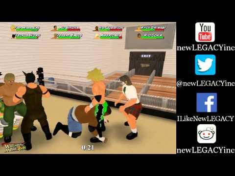 nL Live on Hitbox.tv - Wrestling MPire Remix: Career Mode [PART 1]