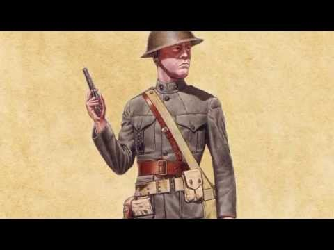 Uniforms of the Marines during the Great War