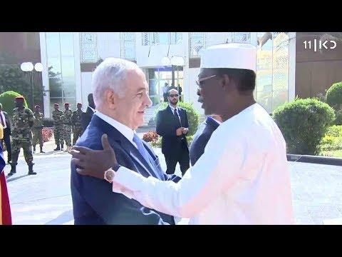 'ישראל פורצת לעולם המוסלמי': נתניהו ונשיא צ'אד סיכמו על חידוש יחסים