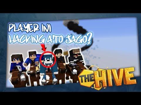 "HiveMC: Gravity - "" PLAYER INI HACKING ATO EMANG JAGO?!? "" w/ NevinGaming and Friends!"