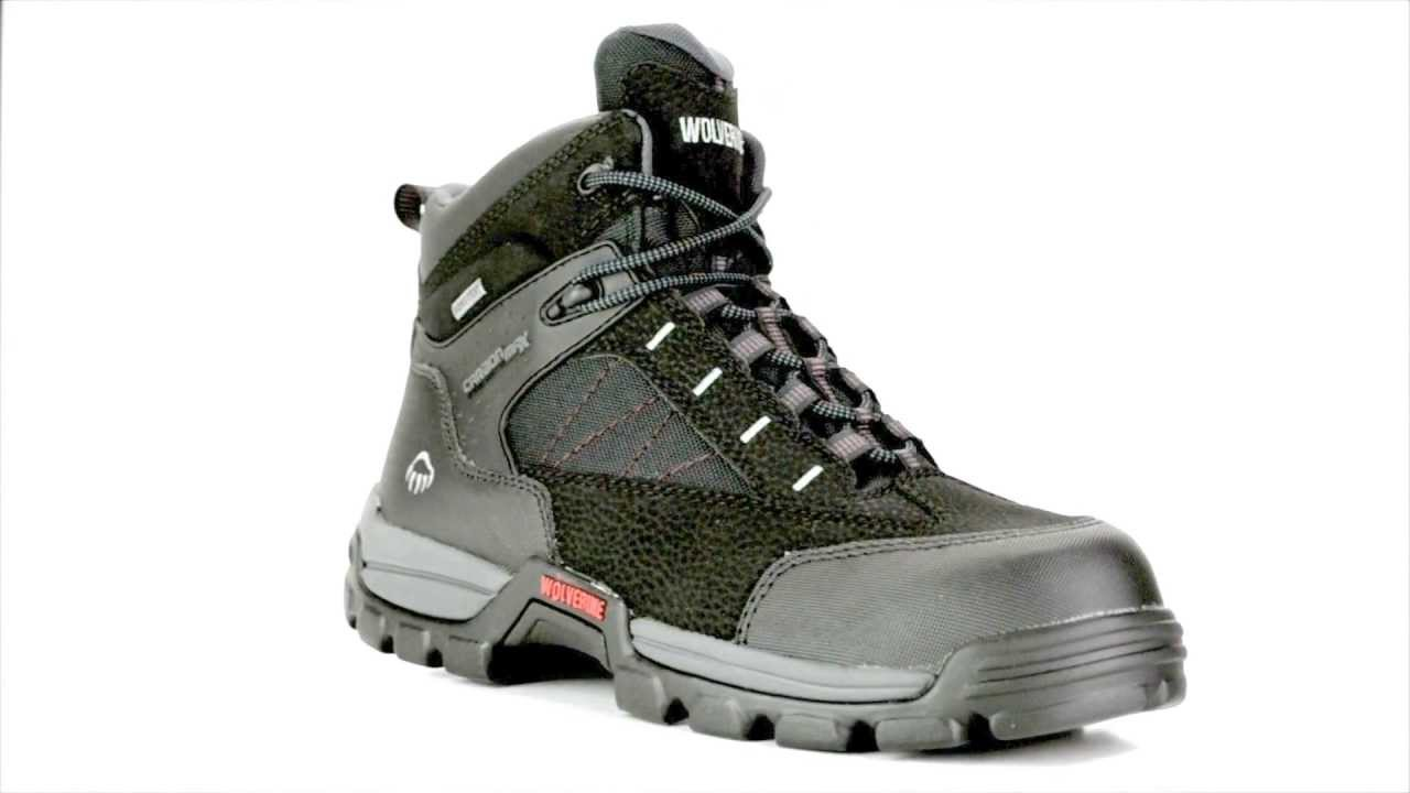 Men's Wolverine W02363 Composite Toe Waterproof Work Boot @ Steel ...