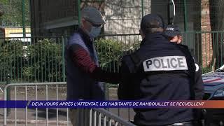 Yvelines | Deux jours après l'attentat, les habitants de Rambouillet se recueillent
