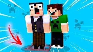 Minecraft REVERSO : FIZ UMA ARMADILHA PARA MEU AMIGO !!