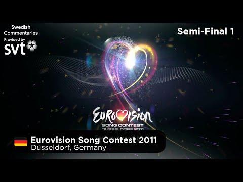 Eurovision Song Contest 2011 - Semi-Final 1 (Svenska Kommentarer)