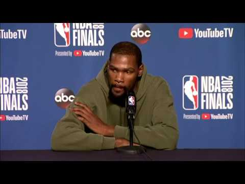 Stephen Curry & Kevin Durant Interview | NBA Finals Game 4 Media Availability
