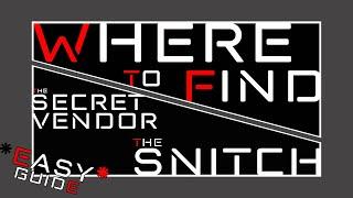 Week 4 Secret Vendor Location