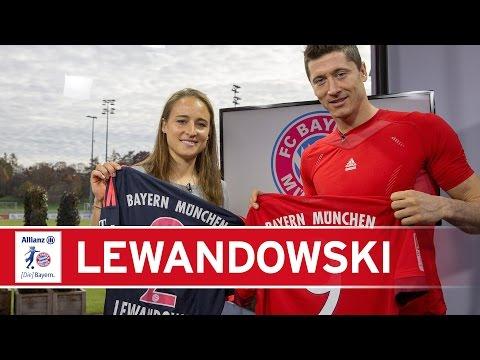 Lewandowski im Doppelpack beim FC Bayern