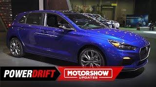 2020 Hyundai Elantra GT N Line : Sportier and Sleeker : 2019 Detroit Auto Show : PowerDrift