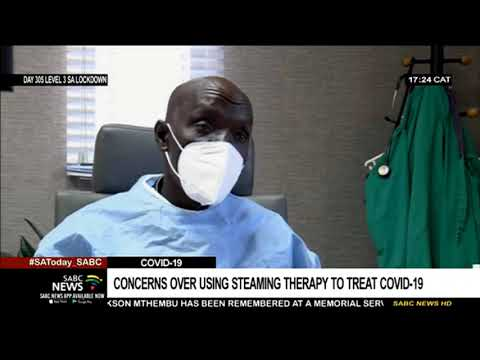 Growing concerns about people using steaming therapy to treat COVID-19