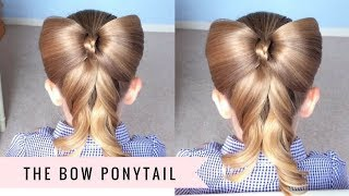 Bow Ponytail by SweetHearts Hair
