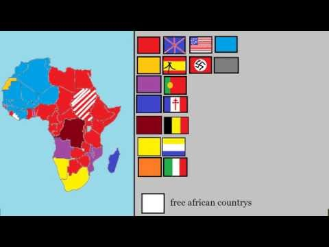 colonizing of africa 1900-today