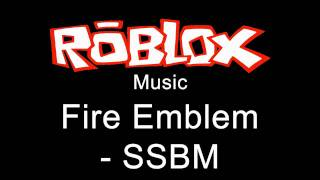 Repeat youtube video Roblox Music - Fire Emblem - SSBM