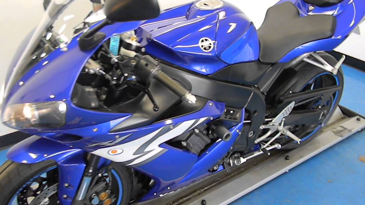 2004 Yamaha Yzf R1 Blue Used Motorcycle For Sale Eden Prairie