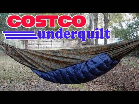 costco diy hammock underquilt   youtube  rh   youtube