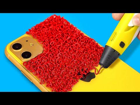 การประดิษฐ์จากปากกา 3D || เคล็ดลับฮาๆ และไอเดีย DIY ง่ายๆ ต้อนรับเปิดเทอม โดย 123 GO! SCHOOL
