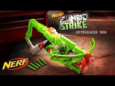 NERF - 'Zombie Strike Outbreaker Bow' Official TV Commercial