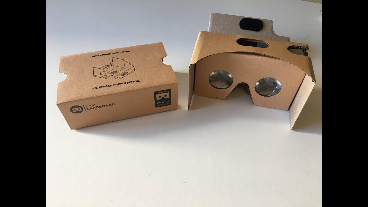 e22dab422 فتح علبة Unboxing نظّارة جوجل للواقع الافتراضي VR - YouTube