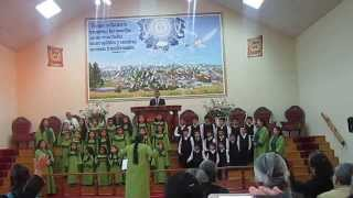 ángeles volando coro de niños nueva imperial