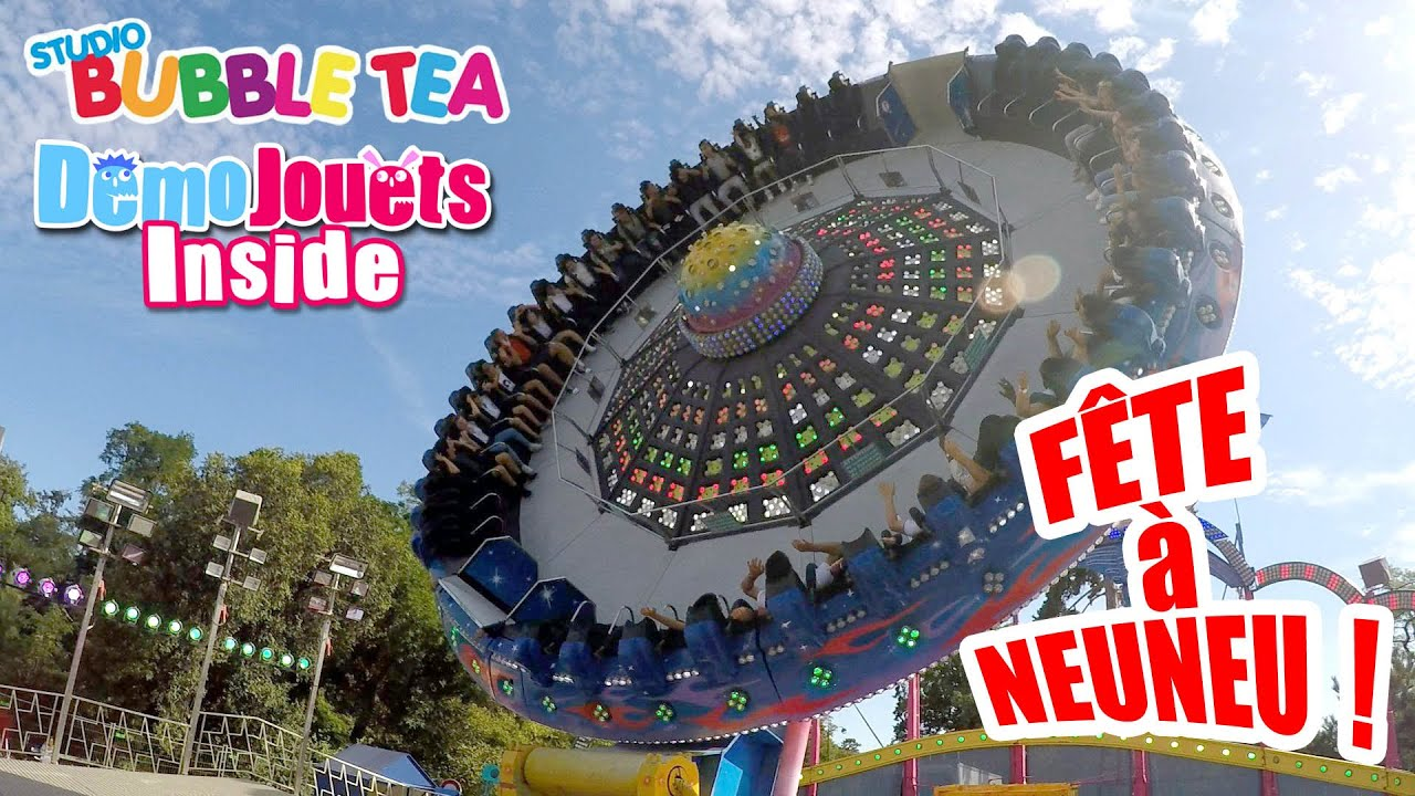 Maneges Amp Attractions Fun Avec Studio Bubble Tea 224 La Fete