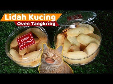 Resep Kue Kering Lidah Kucing Renyah Dan Enak Dengan Oven