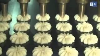 видео Производство печенья