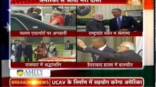 Obama, Modi discuss key matters at Hyderabad House