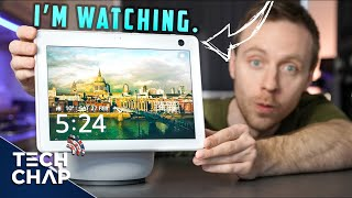 Echo Show 10 REVIEW - This is creepy... | The Tech Chap