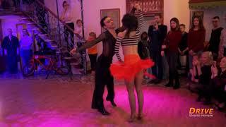 Отчетный концерт школы танцев Драйв. Соло-латина выступление тренер Алёны Карпенко
