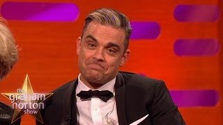 Robbie Williams Skypes Fan Who Tattooed His Autograph On Her Bottom - The Graham Norton Show