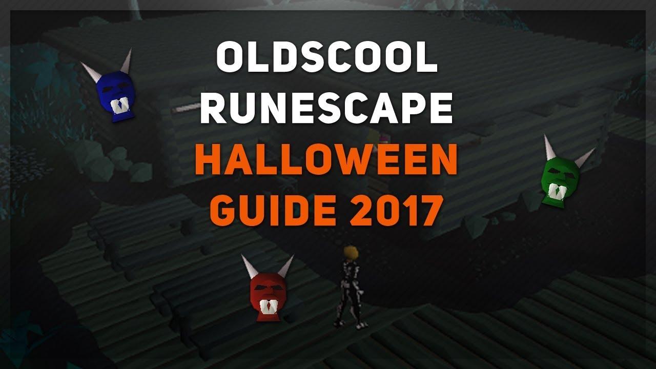 Oldschool Runescape - Halloween Event 2017 - YouTube