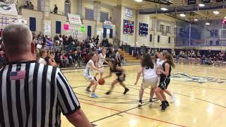 Plymouth North girls basketball vs. Plymouth South