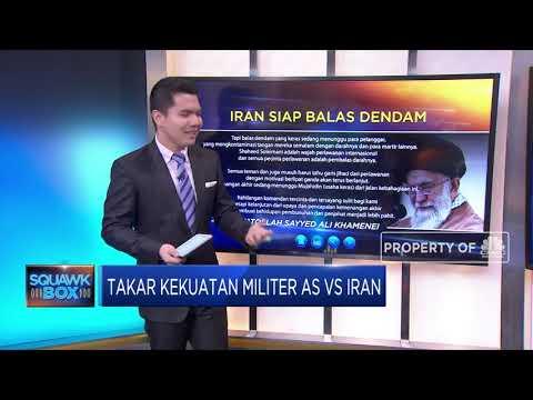 Takar Kekuatan Militer AS Vs Iran