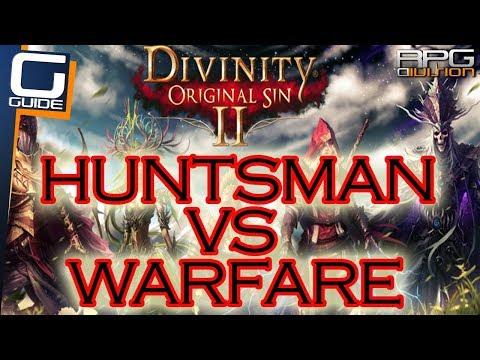 DIVINITY ORIGINAL SIN 2 - Huntsman VS Warfare Ranger Testing