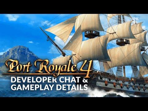 PORT ROYALE 4   Developer Chat & Gameplay Details