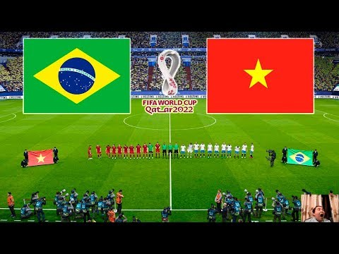 PES 2020 | Vietnam Vs Brazil | FIFA World Cup 2022 Qatar | Full Match | All Goals HD | Gameplay PC