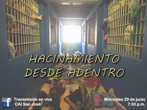 Hacinamiento desde la cárcel de San Sebastián.