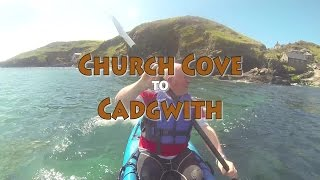 kayak trip church cove to cadgwith devils frying pan zawn