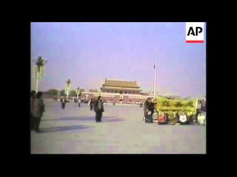 Video of recent Falun Gong protest by Westerners
