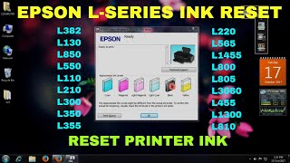 epson Printer ink Level Reset