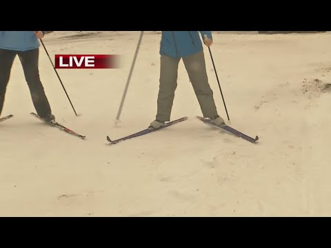 Learning to ski uphill