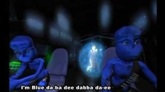 Eiffel 65 - Blue (Da Ba Dee) [Gabry Ponte Ice Pop Mix] (Original Video with subtitles)