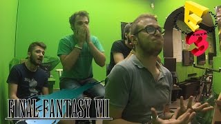 Final Fantasy VII Remake Reveal LIVE Reaction - E3 2015 SONY